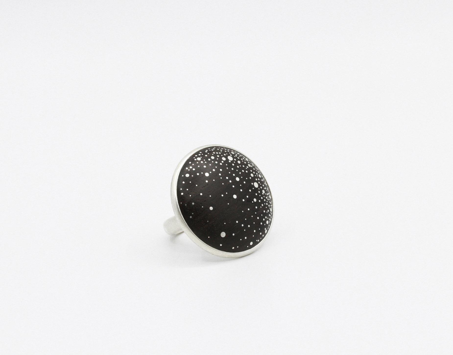 Milky Way Cabochon Ring