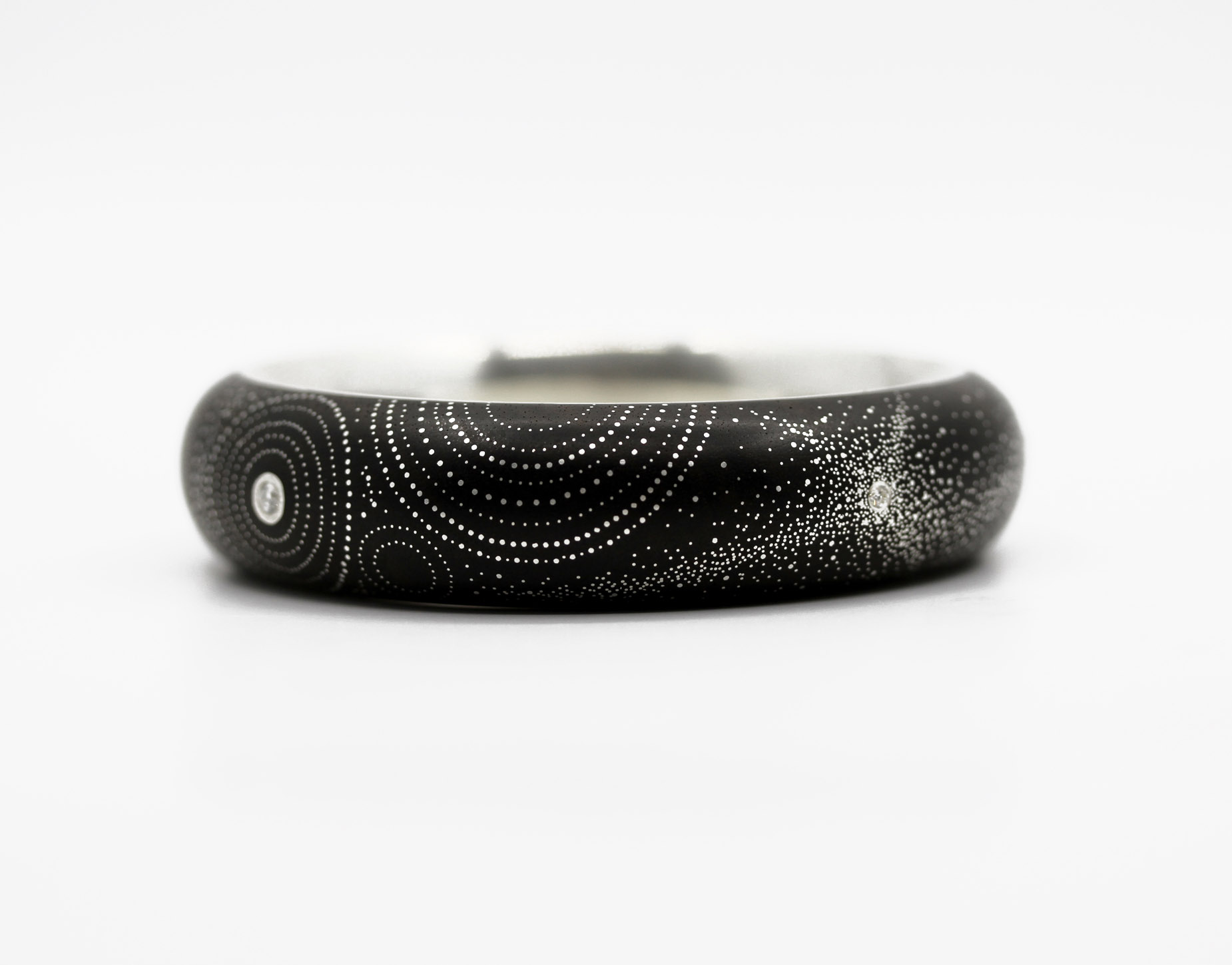 Shweshwe Star Burst Bangle